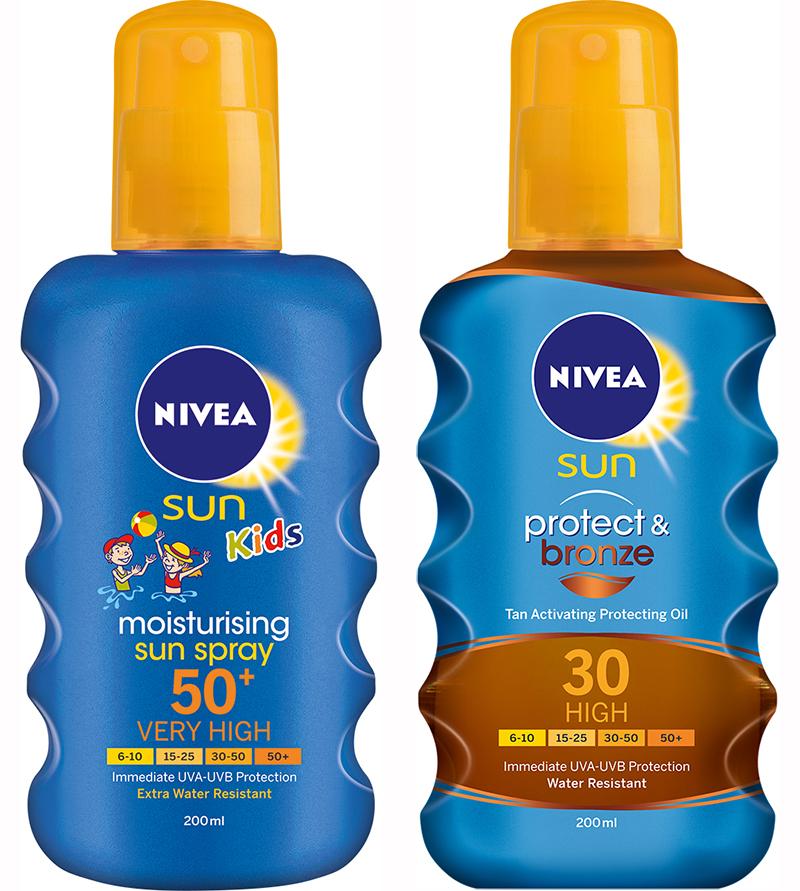 NIVEA SUN KIDS CARING SUN SPRAY SPF 30 150ml Height: 15,5cm