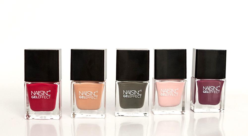 nailsinc geleffect shades