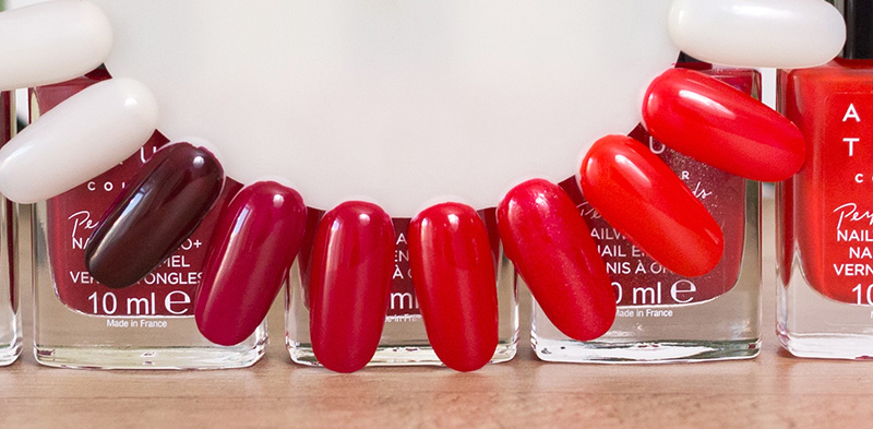 avon true colour perfect reds oje aplicate