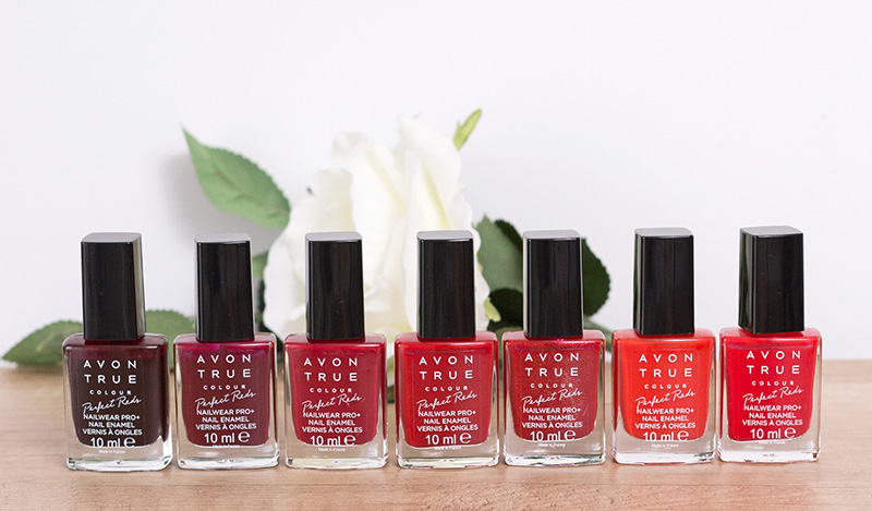 avon true colour perfect reds oje