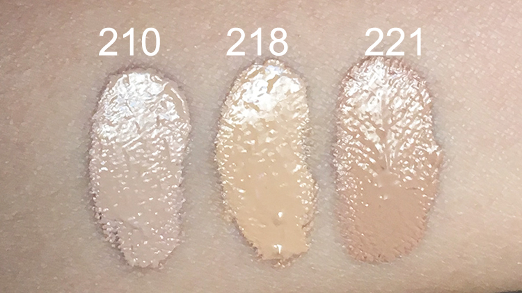dermacol 210 218 221_swatches