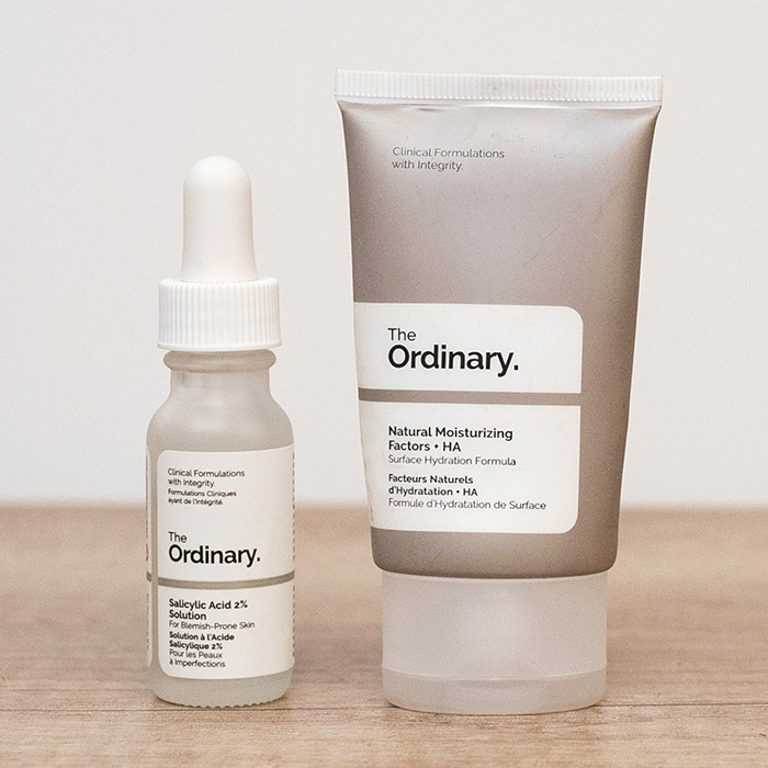 the ordinary acid salicilic natural moisturising factors