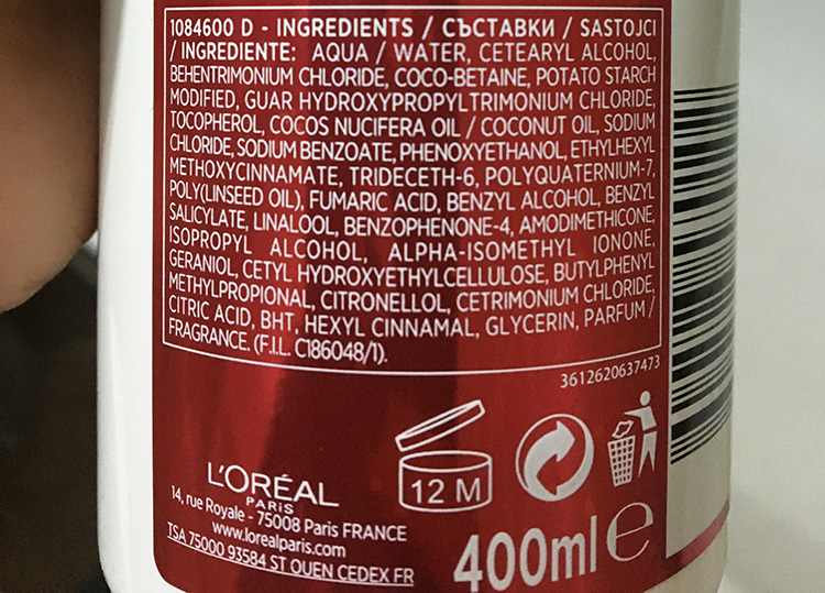 L'Oreal Elseve Low Shampoo