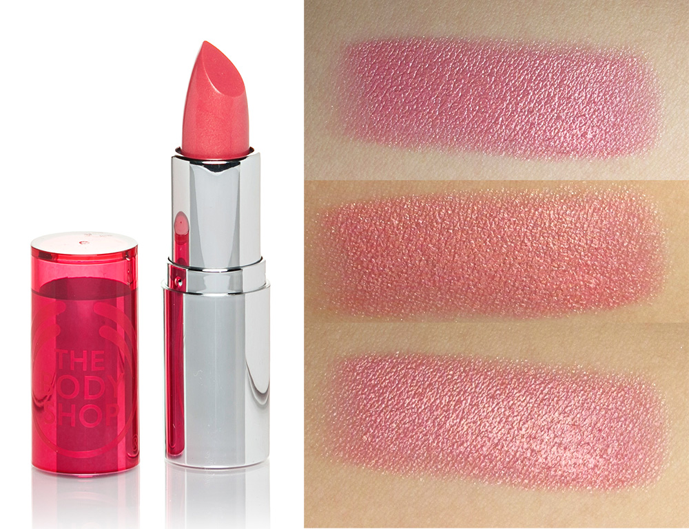 Ruj The Body Shop Colour Crush 245 Pink Luxe Cosmeticelatest