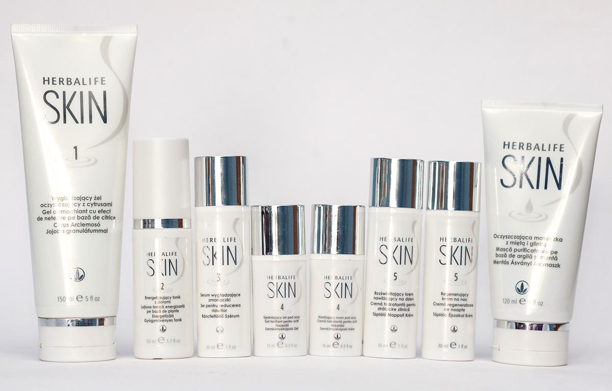 pachet herbalife skin