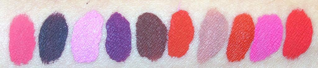 anastasia beverly hills liquid lipstick swatch 3