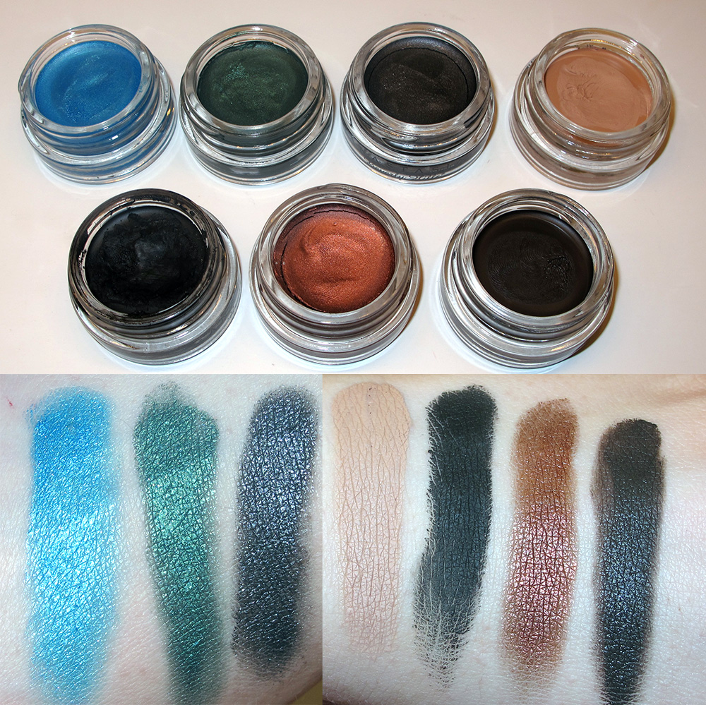 anastasia beverly hills waterproof creme color swatches