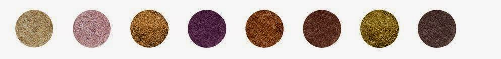 eyeshadow dusty wycon nuante
