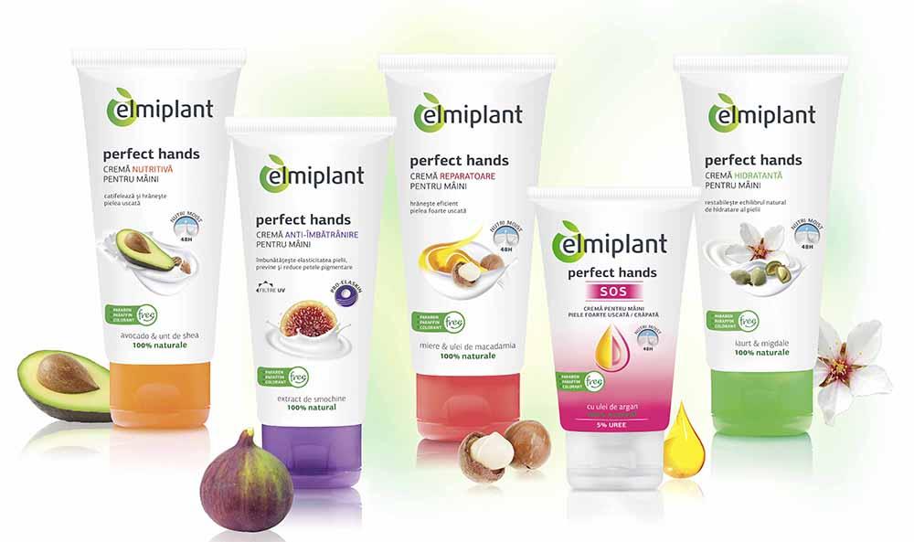 elmiplant Hand Creams Family+SOS Hand Cream