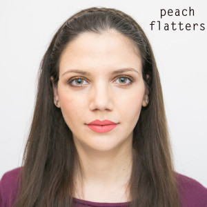 peach flatters