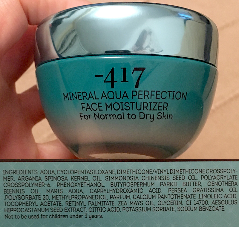 -417 aqua ingredients