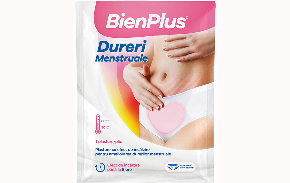 plasture dureri menstruale